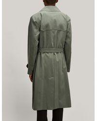 Joseph - Green Trench-coat Alexandre for Men - Lyst