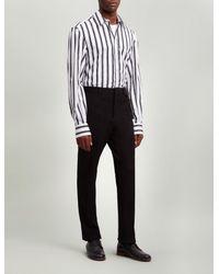Joseph - Black Pantalon Jack en gabardine stretch for Men - Lyst