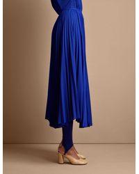 Joseph - Blue Abbott Stocking Silk Skirt - Lyst