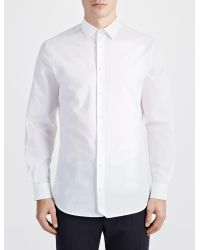 JOSEPH - White Parachute Poplin John Shirt for Men - Lyst