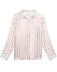 Beautiful Bottoms - Multicolor Blush Stripe Modern Pj Top - Lyst