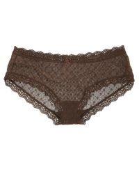 Eberjey - Brown Delirious French Brief - Lyst