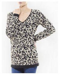 Armani Jeans - Natural Leopard Jumper - Lyst