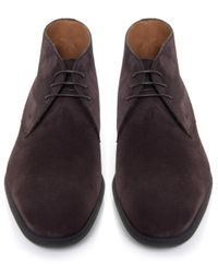 Stemar - Brown Trieste Suede Chukka Boots for Men - Lyst