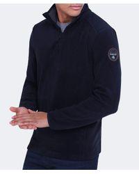 Napapijri - Blue Fleece Tambo Sweatshirt for Men - Lyst
