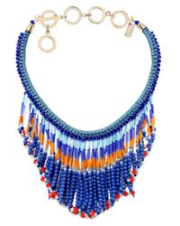 Butterfly | Blue Marrakesh Collar Necklace | Lyst