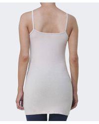 Velvet By Graham & Spencer   Gray Kelisha Jersey Tunic Vest   Lyst