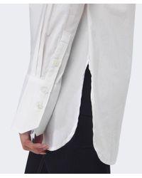 Gestuz   White Payson Plain Shirt   Lyst