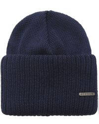 Stetson - Blue Northpoint Merino Wool Hat for Men - Lyst