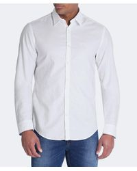 BOSS Green - White Regular Fit C-buster Shirt for Men - Lyst