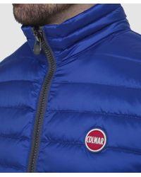 Colmar - Blue Down Gilet for Men - Lyst