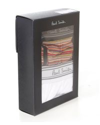 Paul Smith - White Two Pack Of Boxer Briefs for Men - Lyst