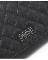 Barbour - Black Gixer Quilted Shoulder Bag - Lyst