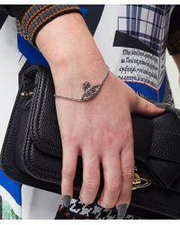 Vivienne Westwood - Metallic Vivienne Westwood Radha Bas Relief Bracelet - Lyst