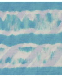 Me and Kashmiere - Blue Squall Print Cashmere Blend Scarf - Lyst