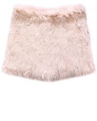 Yves Salomon - Pink Fur Snood - Lyst