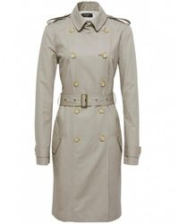 Paul Smith Black Label - Natural Belted Trench Coat - Lyst