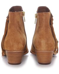Ash - Blue Lenny Soft Ankle Boots - Lyst