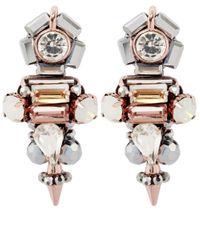 Butterfly - Pink Statement Bellini Earrings - Lyst