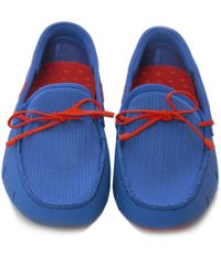 Swims | Blue Braided Lace Loafers for Men | Lyst