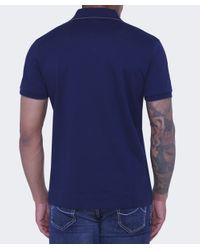 BOSS Black - Black Regular Fit Parlay 3 Polo Shirt for Men - Lyst