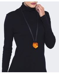Monies - Multicolor Oversized Resin Necklace - Lyst