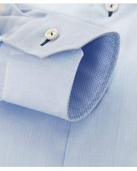 Eton of Sweden - Blue Slim Fit Signature Twill Shirt for Men - Lyst