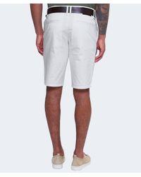 BOSS Orange - Natural Slim Fit Schino Shorts for Men - Lyst