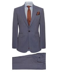 Vivienne Westwood | Blue Slim Fit Wool James Suit for Men | Lyst