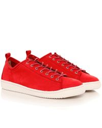 PS by Paul Smith | Red Leather Miyata Trainers for Men | Lyst