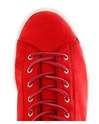 PS by Paul Smith - Red Leather Miyata Trainers for Men - Lyst