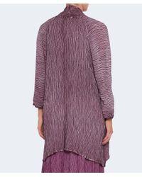 Grizas - Multicolor Silk Open Front Cardigan - Lyst