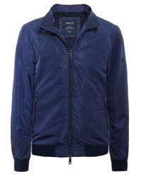 Armani Jeans | Blue Zip-through Bomber Jacket for Men | Lyst