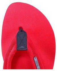 HUGO - Red Nomman Flip Flops for Men - Lyst