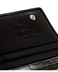 Vivienne Westwood - Black Classic Wallet - Lyst