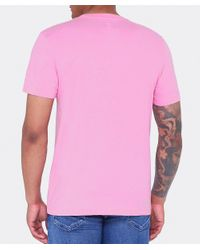 Psycho Bunny - Pink Crew Neck Pastel T-shirt for Men - Lyst