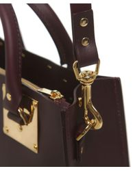 Sophie Hulme - Purple Albion Large Square Tote Bag - Lyst