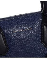 MICHAEL Michael Kors - Blue Campbell Satchel Bag - Lyst