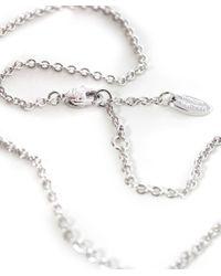 Vivienne Westwood - Metallic Mayfair Bas Relief Silver Tone Necklace - Lyst