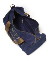 Hackett - Blue Kit Duffle Bag for Men - Lyst