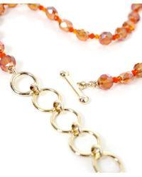 Butterfly - Orange Marrakesh Classic Tassel Necklace - Lyst