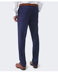 Corneliani - Blue Wool Trousers for Men - Lyst