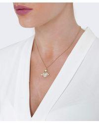 Vivienne Westwood - Metallic Oona Bas Relief Pendant - Lyst