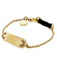 Marc Jacobs - Metallic Standard Supply Bracelet - Lyst