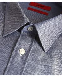 HUGO - Blue Extra Slim Fit Elisha01 Shirt for Men - Lyst