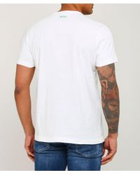 BOSS - White Regular Fit Tee 1 T-shirt for Men - Lyst