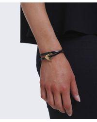 McQ Alexander McQueen - Black Mini Swallow Bracelet - Lyst