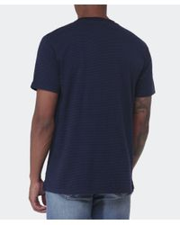 Paul Smith - Blue Pocket Striped T-shirt for Men - Lyst
