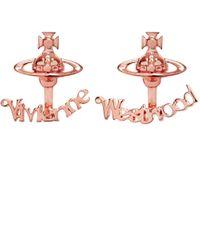 Vivienne Westwood | Pink Toni Earrings | Lyst
