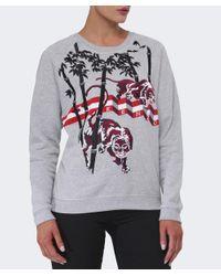 KENZO   Gray Sweatshirt   Lyst